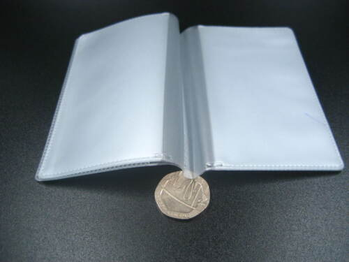 clear card holder accessory inner book for DIY ID card bank card holder material