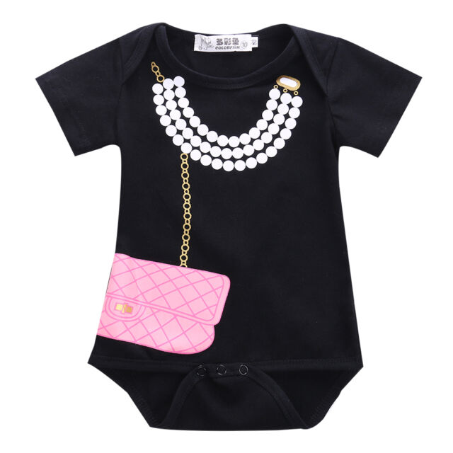 Newborn Baby Girl Outfits Jumpsuit Romper Bodysuit Party Clothes