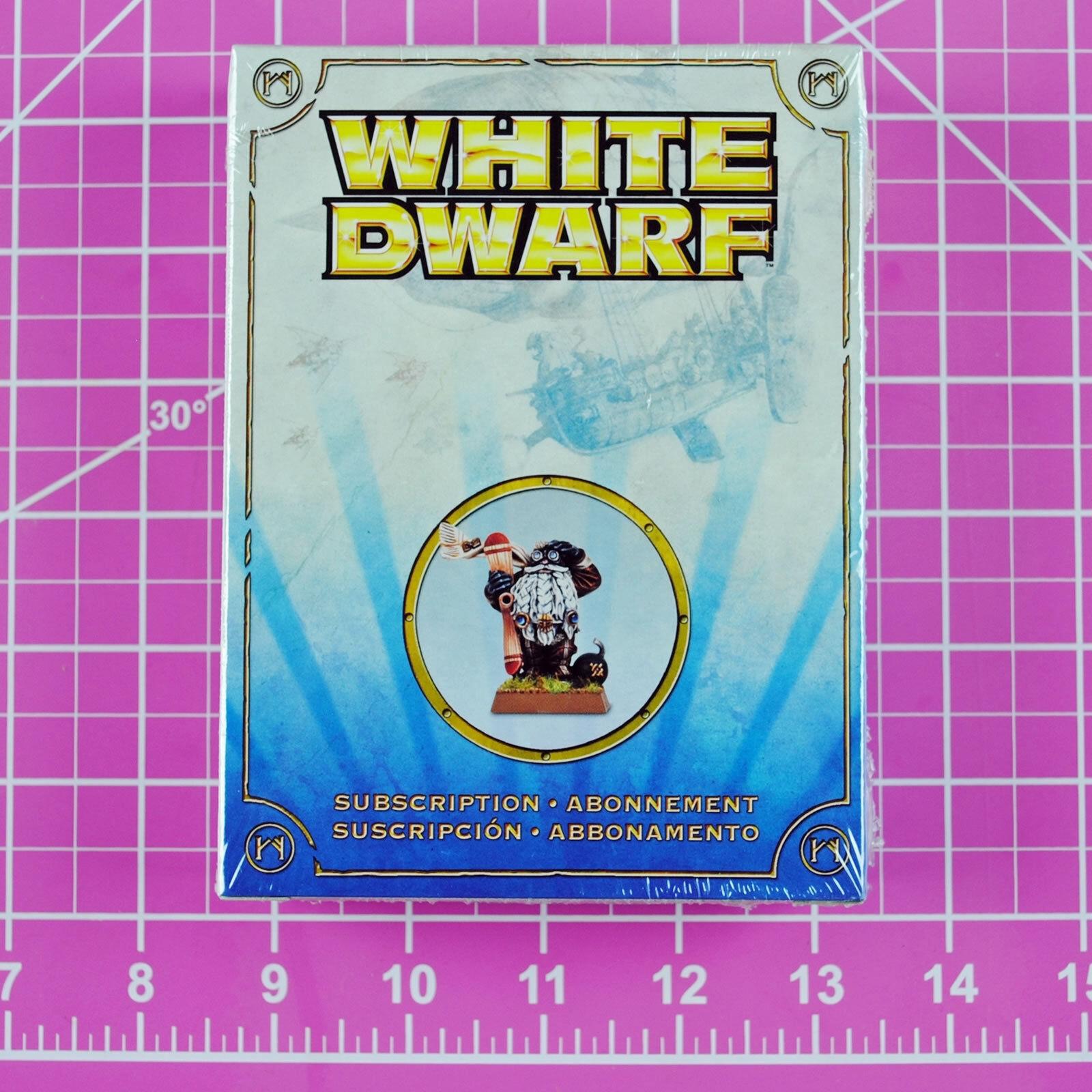 Weißer zwerg vorfahren eine himmelfahrt 2011 abo - modell, warhammer zitadelle selten