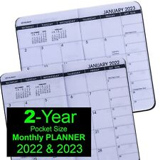 2022 Amp 2023 At A Glance 70 024 Two Year Monthly Planner 3 12 X 6 18