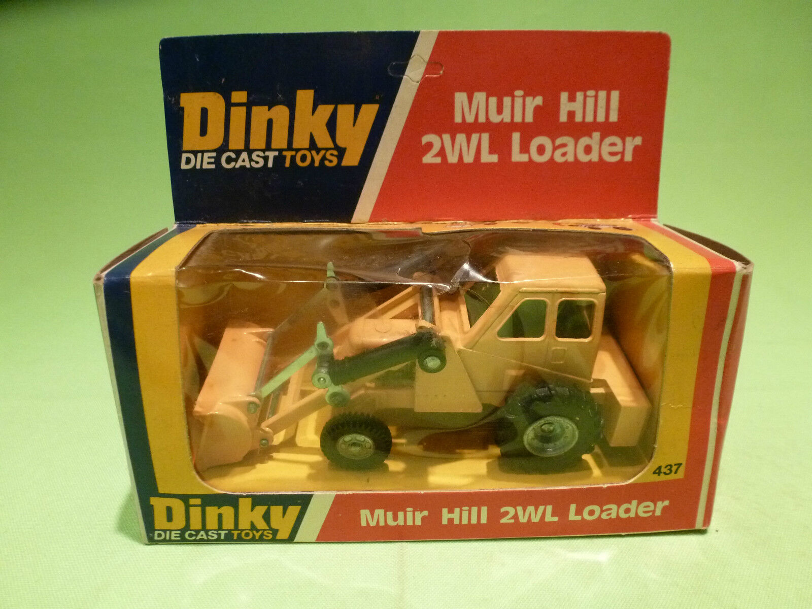 DINKY TOYS 437 MUIR HILL 2WL LOADER - RARE RARE RARE SELTEN - GOOD CONDITION IN BOX 9eb33c