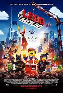 A0 A1 A2 A3 A4 Sizes The Lego Movie Giant CANVAS PRINT