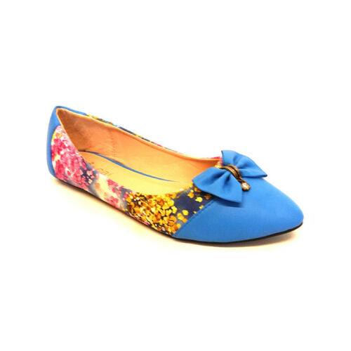 WOMENS LADIES FLAT BALLET PARTY PUMPS SLIP ON WORK DOLLY LOAFERS SHOES SIZE UK