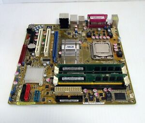 ASUS-P5K-VM-Motherboard-with-Core-2-Duo-E6550-2-33-GHz-CPU-and-4GB-RAM