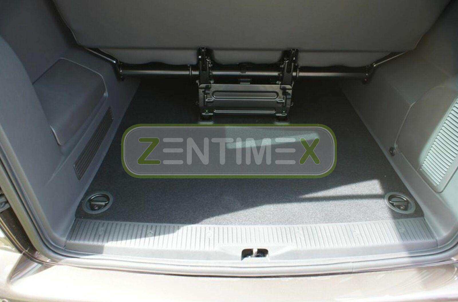 Geriffelte Kofferraumwanne für VW Volkswagen T5 Multivan Kurz 2003 ku Radstand