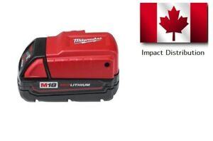 New Milwaukee 49-24-2371 M18 Li-Ion Cordless USB Power Source (Tool Only)