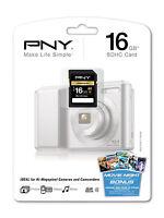 Pny 16g Sdhc Sd Card For Panasonic Lumix Dmc-s2 Sz1 Sz7 Ts20 Ts4 Zs15 Camera