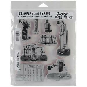 LABORATORY - Tim Holtz Cling Rubber Stamp Set