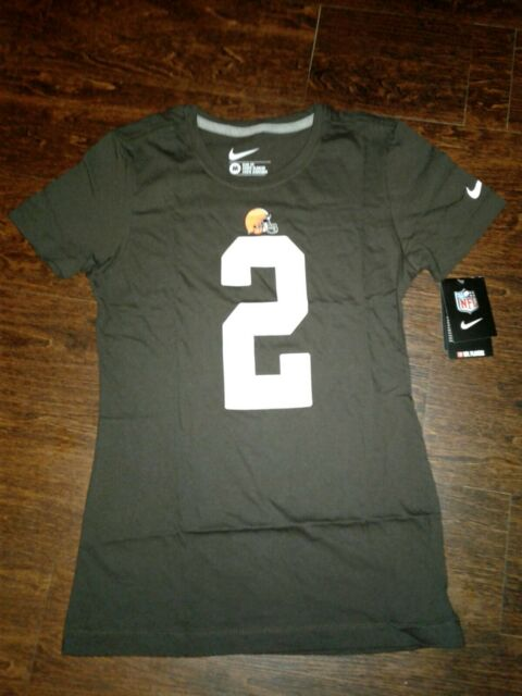 NWT Womens Nike Johnny Manziel Jersey Shirt New Nfl | eBay