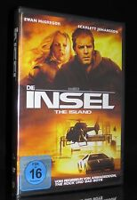 DVD DIE INSEL - THE ISLAND - EWAN McGREGOR + STEVE BUSCEMI + SCARLETT JOHANSSON