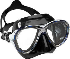 Cressi Sub Eyes Evolution 2 Lens Scuba Diving Silicone Mask Made in Italy Blue