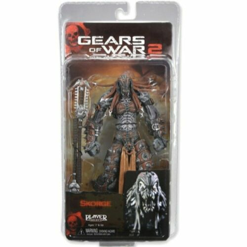 """NECA Gears of War 2 Skorge Video Game 7/"""" Action Figure Toy 52146"""