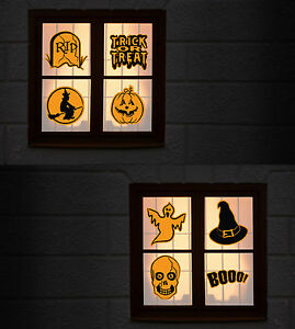image is loading set of 8 halloween window cling stickers a4