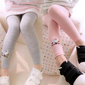 Kids-Toddler-Baby-Girls-Skinny-Pencil-Pants-Jeggings-Stretchy-Leggings-Trousers