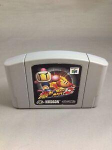 Details about 40141 Baku Bomberman 2 Nintendo 64 N64 JAPAN