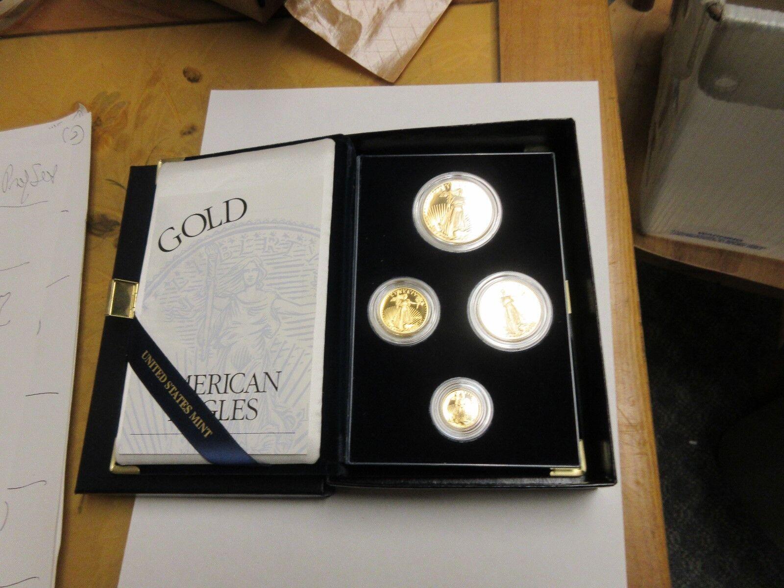 1997 American Eagle Gold Proof Set
