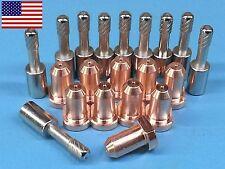 20pc Thermal Dynamics PCH-10 Plasma 9-6099 Tips & 9-6006 Electrodes *US SHIP*