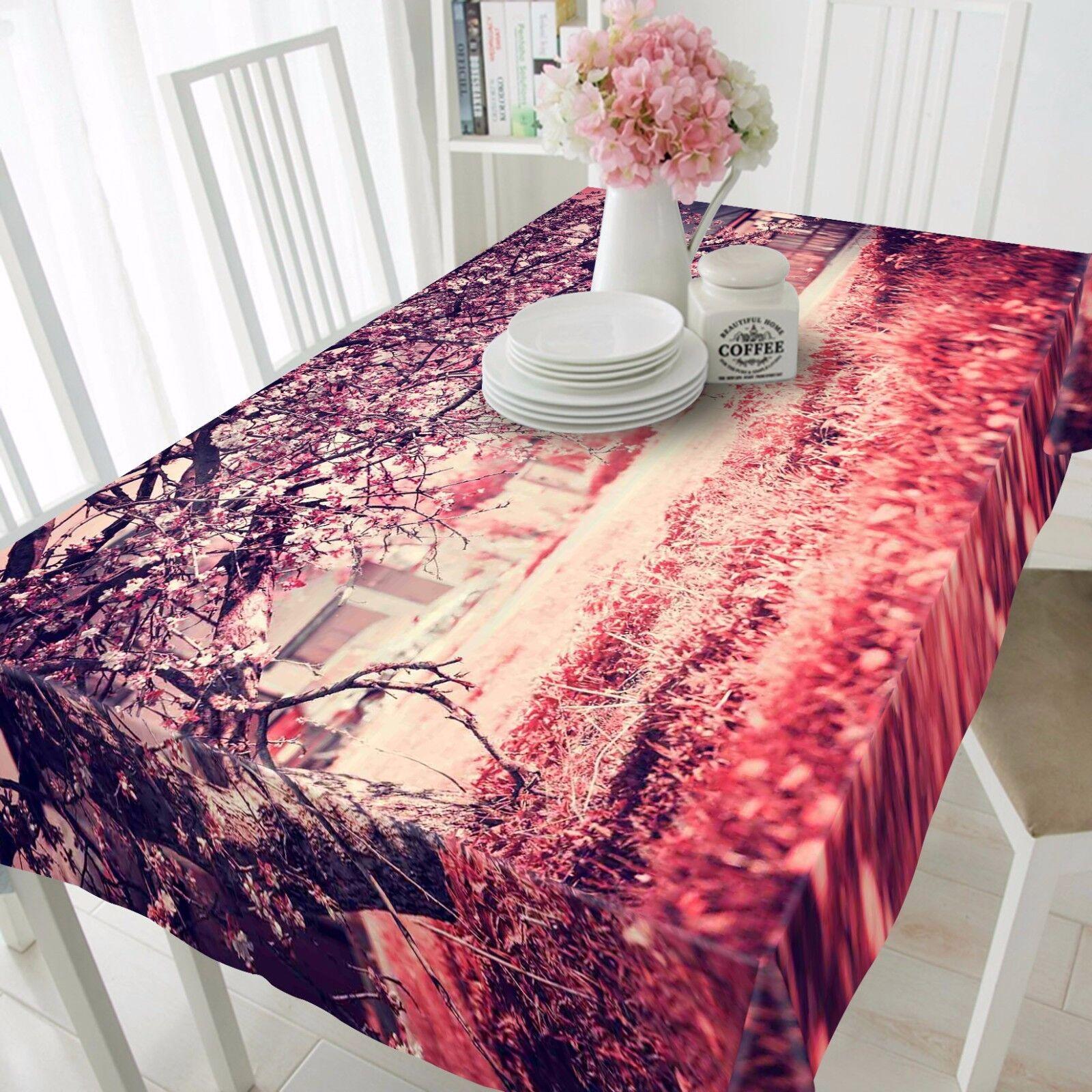 3D Prairies Nappe Table Cover Cloth fête d'anniversaire AJ papier peint Royaume-Uni Citron