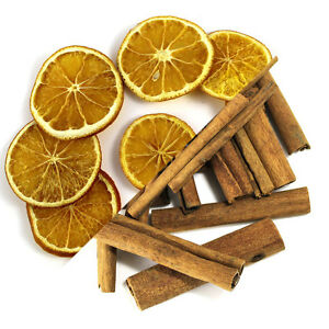 christmas scented fruit wreath orange slicescinnamon sticks and cones 25cm creative crafts