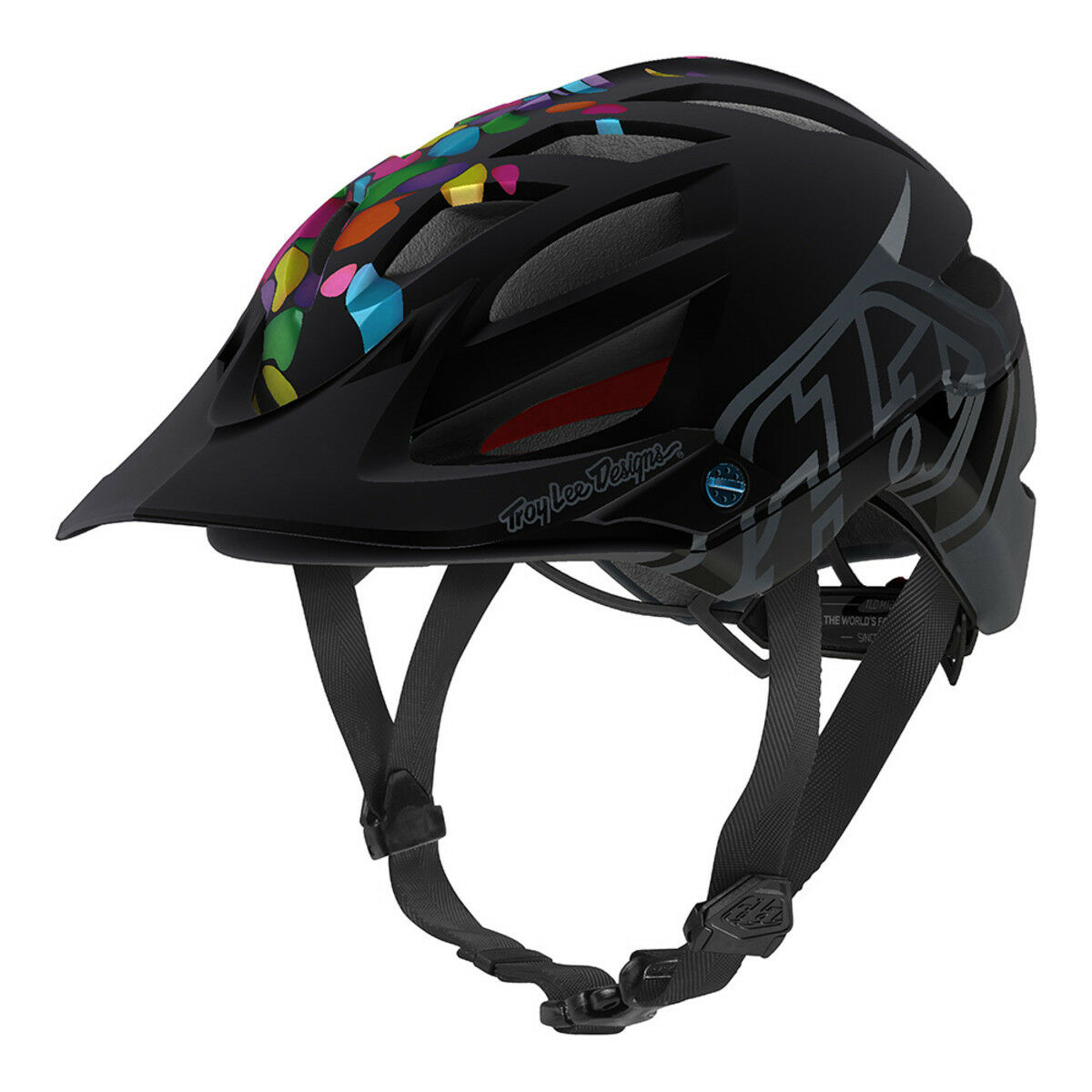 2018 Tld Troy Lee Designs Giovani A1 Mips Gelatina Mountain Bike Casco Dh Cycle