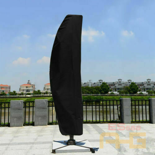 Portable Waterproof  Cantilever Umbrella Parasol Cover Outdoor Garden Patio 2M