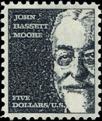 1966 $5 John Bassett Moore, American Law Judge Scott 12