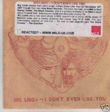 (519I) Big Linda, I Don't Even Like You - DJ CD