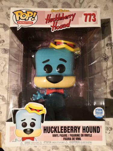 Funko POP Huckleberry Hound 10 pollici Funko shop Hanna Barbera #773 1//6 Chase Nuovo
