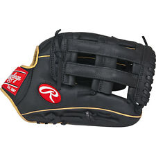 Rawlings Gamer Gloves With Taper Pro H Web Left Hand Black 12in