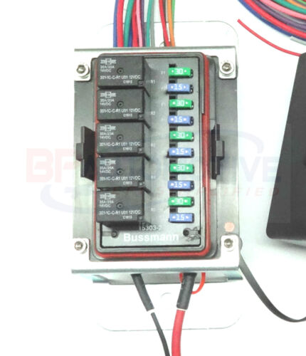 Waterproof Universal Off Road Relay and Fuse Power Distribution Center