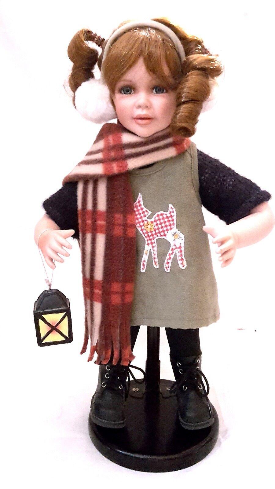 Künstlerpuppe Porzellan Puppe 73 Cm Art Dolls-ooak Dolls & Bears Top Zustand