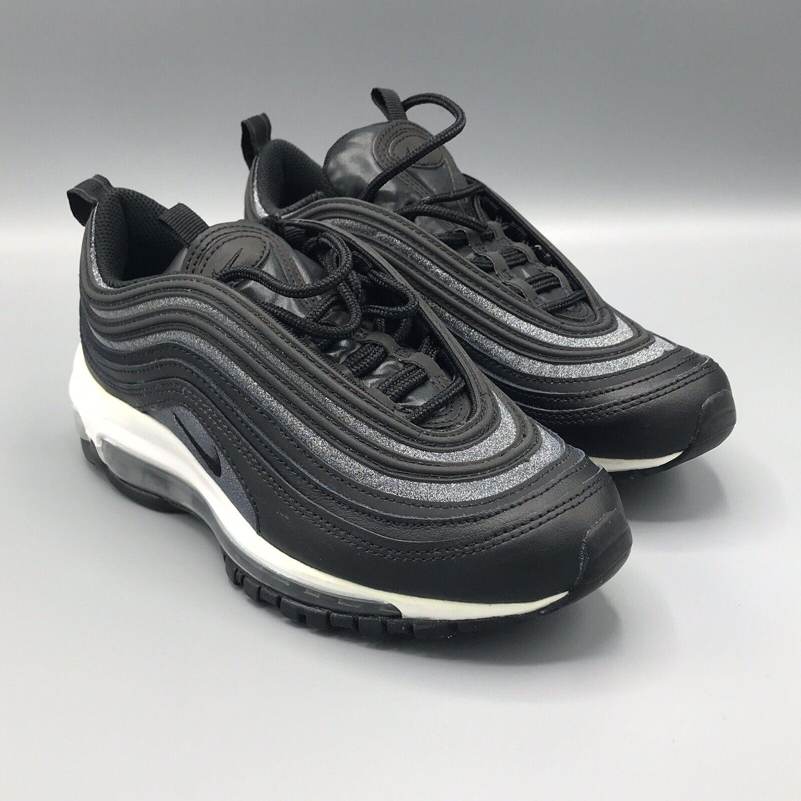 Women's Nike Air Max 97 size 5.5 Black Black-White AT0071-002