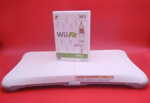 Nintendo Wii Fit Balance Board Wii Bundle Game/Tested