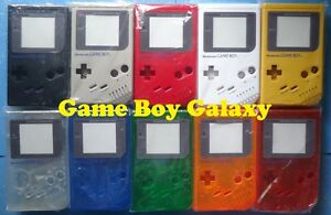 REPLACEMENT-SHELL-Nintendo-Game-Boy-classic-housing-DMG-Glass-Plastic-PICK-COLOR