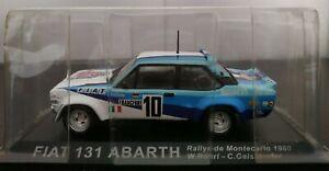 1-43-FIAT-131-ABARTH-RALLYE-DE-MONTECARLO-1980-W-ROHRL-IXO-ALTAYA-ESCALA