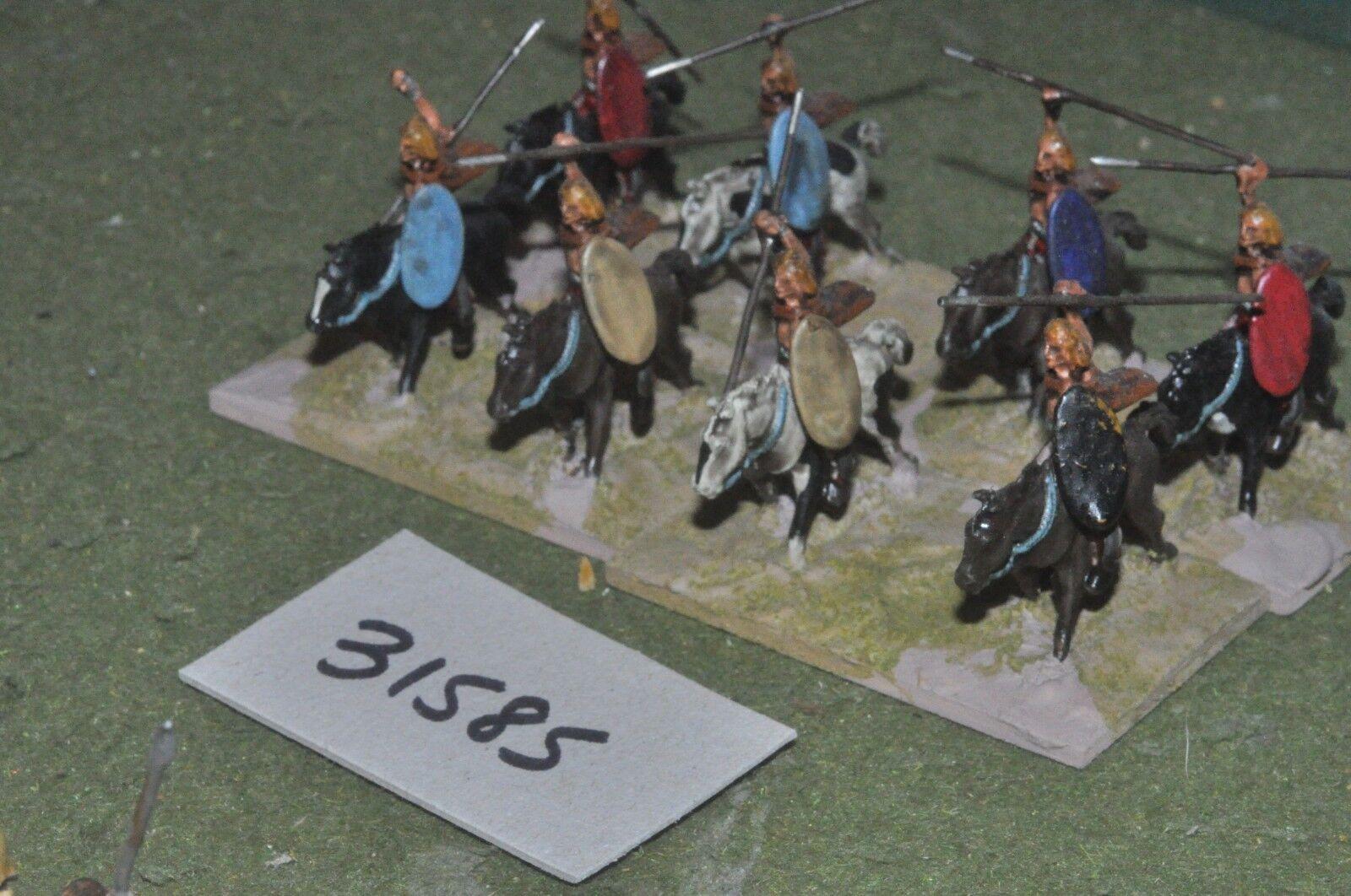25mm roman era   gaul - light 8 figures - cav (31585)