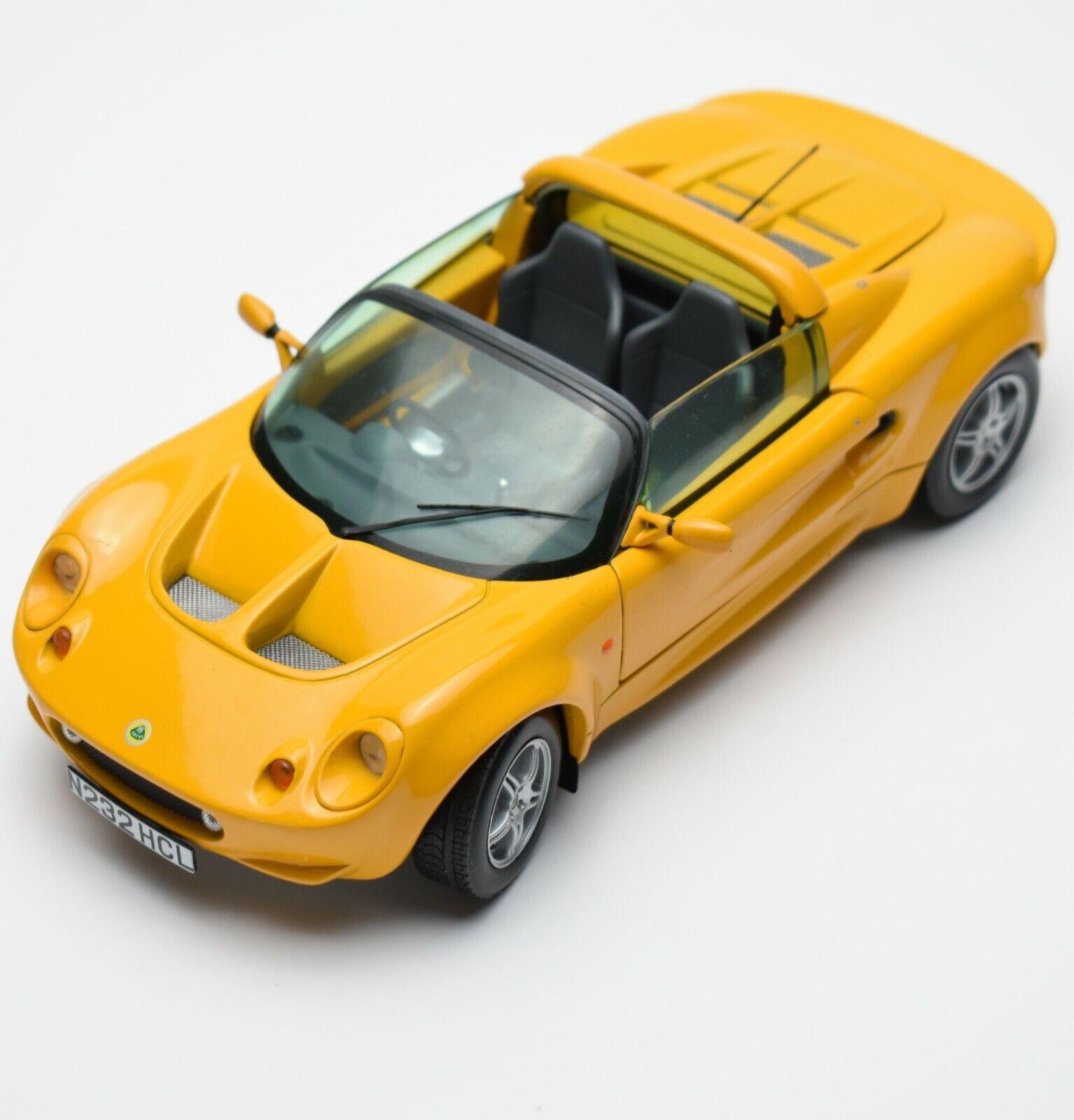 Chrono H 1020 Lotus  ELISE Sports voiture hommeufacturouge 1997 in jaune painted, OVP, 1 18, K042  commandez maintenant avec gros rabais et livraison gratuite