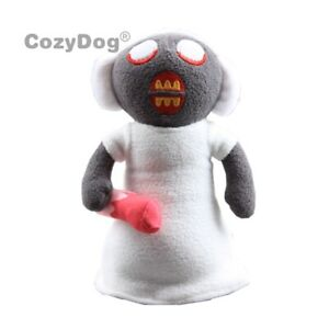 10-Inch-Horror-Game-Granny-Plush-Figure-Toy-Soft-Stuffed-Doll-Kids-Collect-Gift