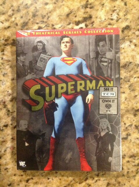 Superman: The Theatrical Serials Collection (DVD,2006,4-Disc,DigiPack)NEW