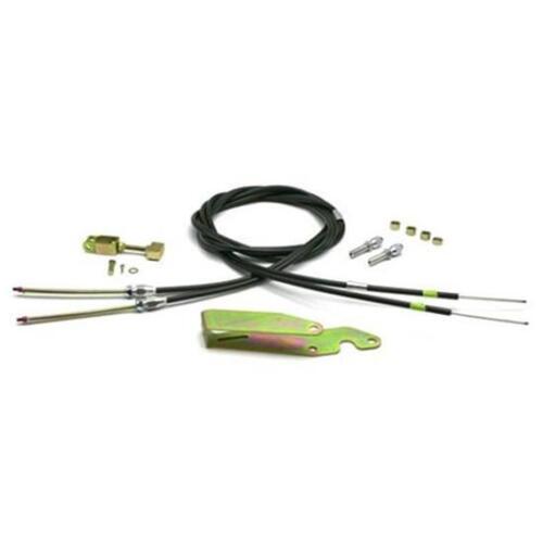 LOKAR Transmount Emergency Hand Brake Cables Black Housing street rod EC-80TU