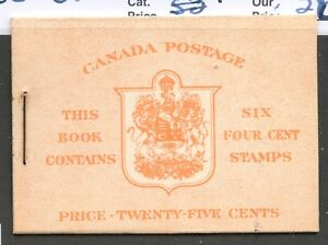 Canada-1943-KGVI-Booklet-Type-II-7c-amp-5c-rates-English-BK36e