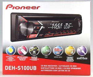 Pioneer Deh-s100ub USB CD AUX 1din Autoradio KFZ PKW