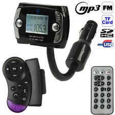 VIVAVOCE TRASMETTITORE BLUETOOTH MP3 USB SD FM AUTO TELECOMANDO COMANDI VOLANTE