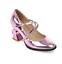 Womens Sweet Mary Jane Sweet  Buckle Strap Block High Heels Lolita Dress Shoes