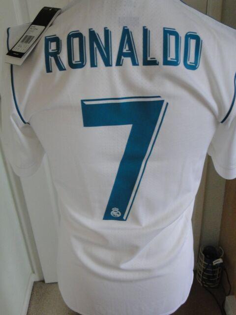 info for 83bd9 ec449 Real Madrid 2017 Player Issue Adizero Shirt Jersey Camiseta Ronaldo No  Matchworn