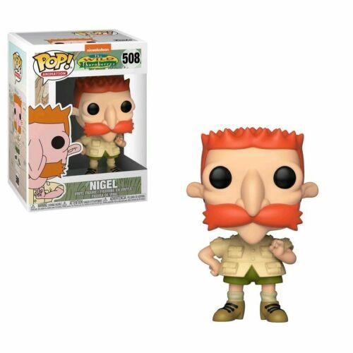 """La famiglia della giungla Nigel 3.75/"""" POP Figura in Vinile Funko 508 Nickelodeon"""