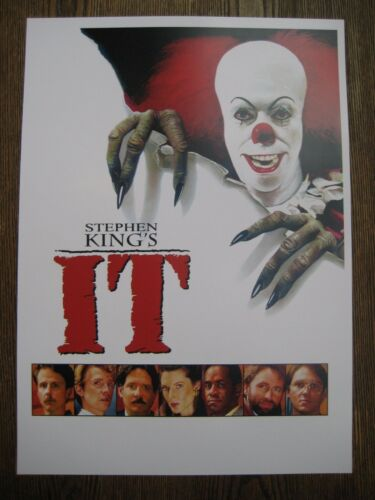 """11/"""" x 15.5/"""" T1 IT - - B2G1F Movie Collector/'s Poster Print"""