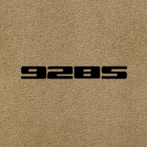 Lloyd Mats Ultimat Sand Front Floor Mats For Porsche 928 S 1983-1986