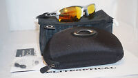 Authentic Oakley Flak 2.0 Silver/fire Iridium Oo9295-02