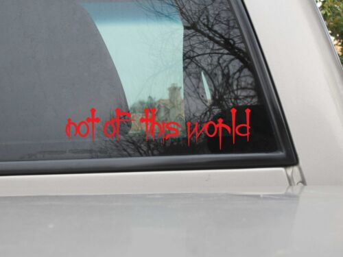 Not of this World Nails Sticker Vinyl NOTW Nails Sticker You Choose Size /& Color